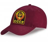 Бейсболка с вышитым Гербом СССР