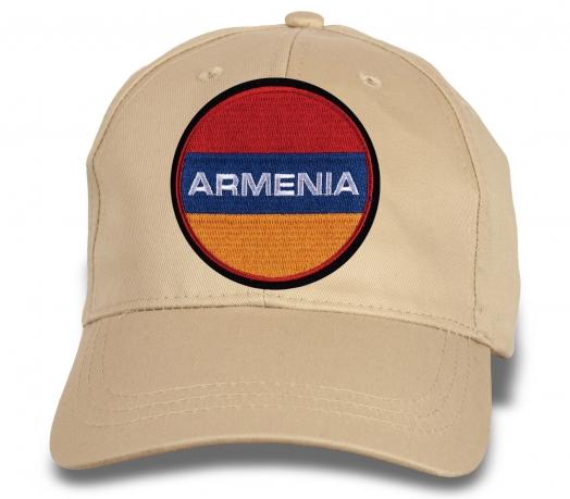 """Бейсболка с вышивкой """"ARMENIA"""""""