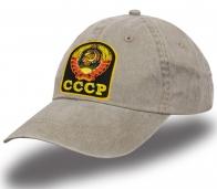 Бейсболка с вышивкой герба СССР