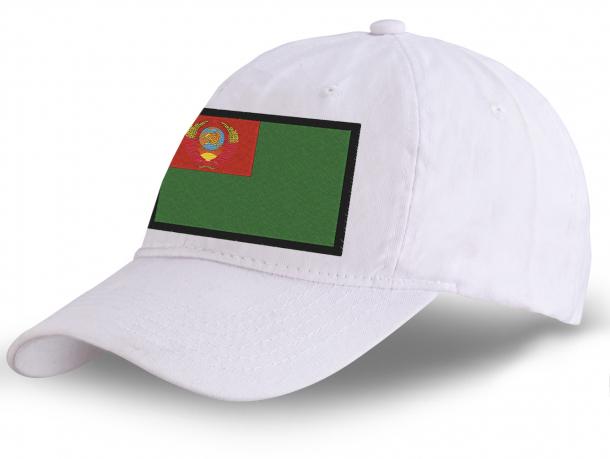 Бейсболка с вышивкой пограничного флага СССР