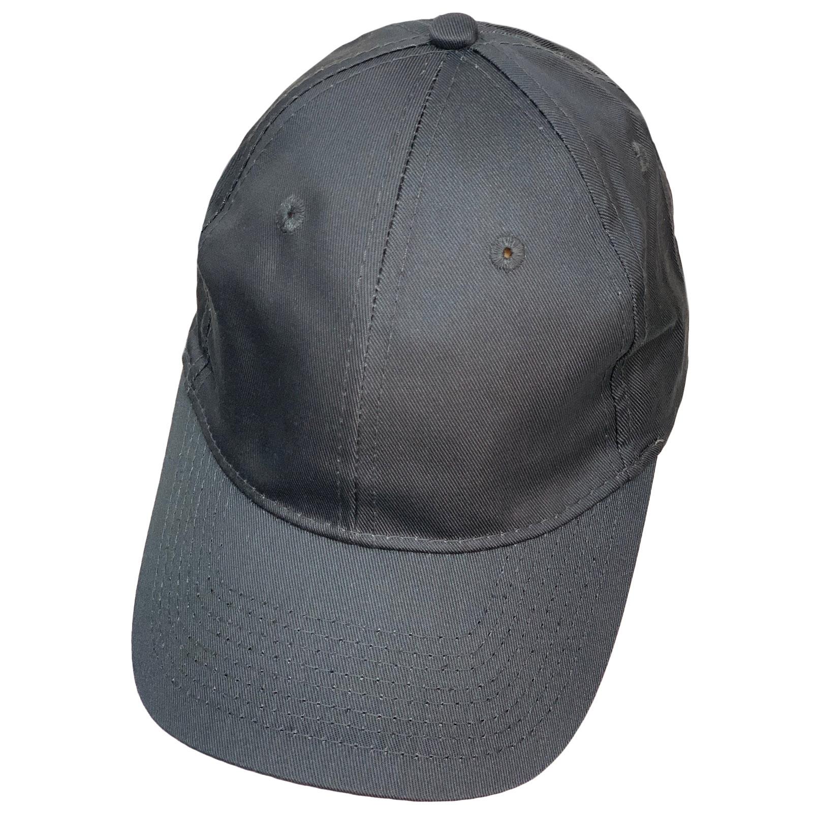 Бейсболка серебристо-серого цвета классического кроя