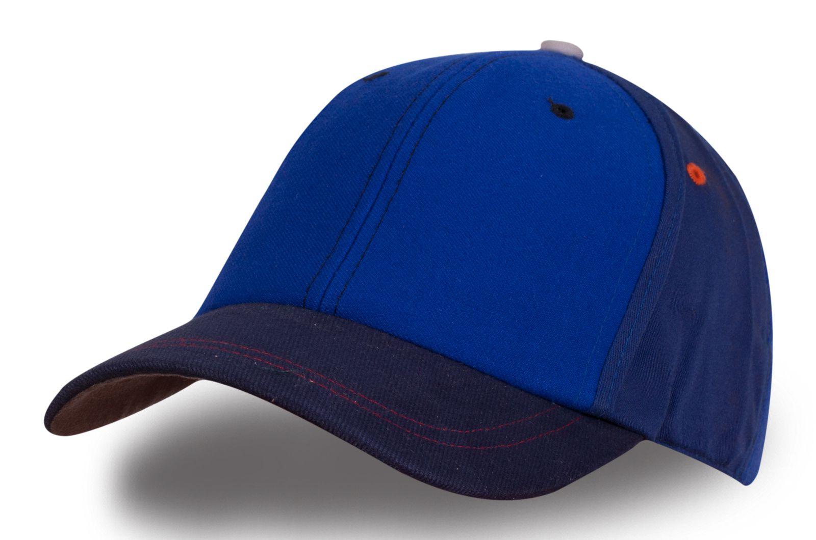 Бейсболка синяя - купить в интернет-магазине с доставкой