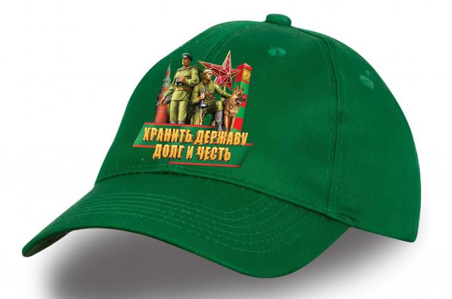"""Бейсболка """"Советские пограничники"""" - купить по специальной цене"""