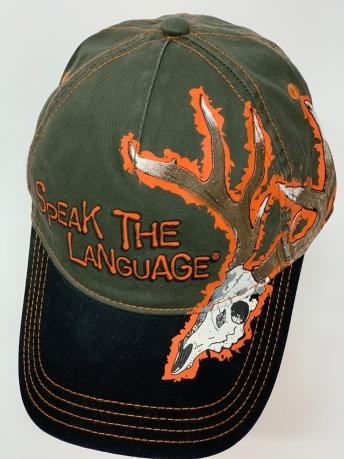 Бейсболка Speak The Language с черепом оленя