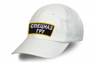Бейсболка Спецназ ГРУ белая