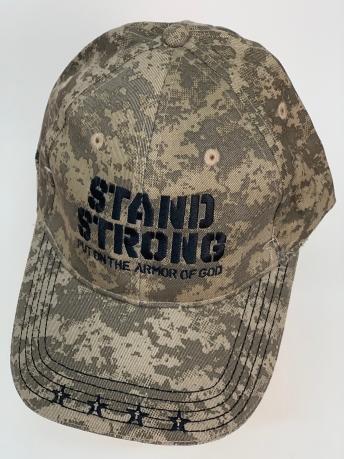 Бейсболка Stand Strong из камуфляжной ткани