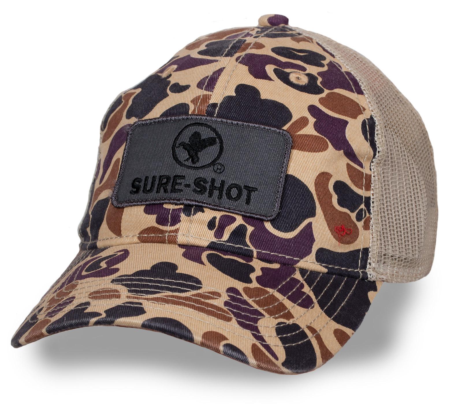 Фирменная бейсболка с логотипом SURE SHOT