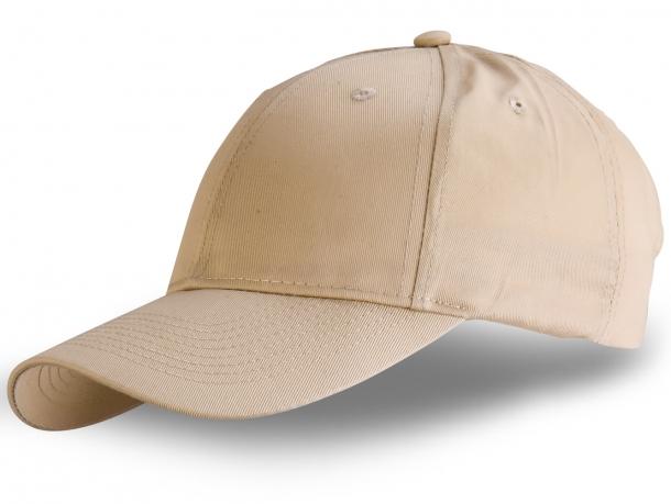 Модные бежевые кепки унисекс