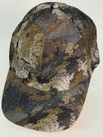 Бейсболка Tanglefree серо-коричневый камуфляж с вышивкой