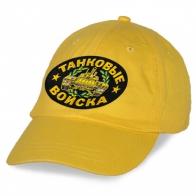 Бейсболка Танковые войска желтая