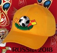 Бейсболка с изображением футбольного мяча