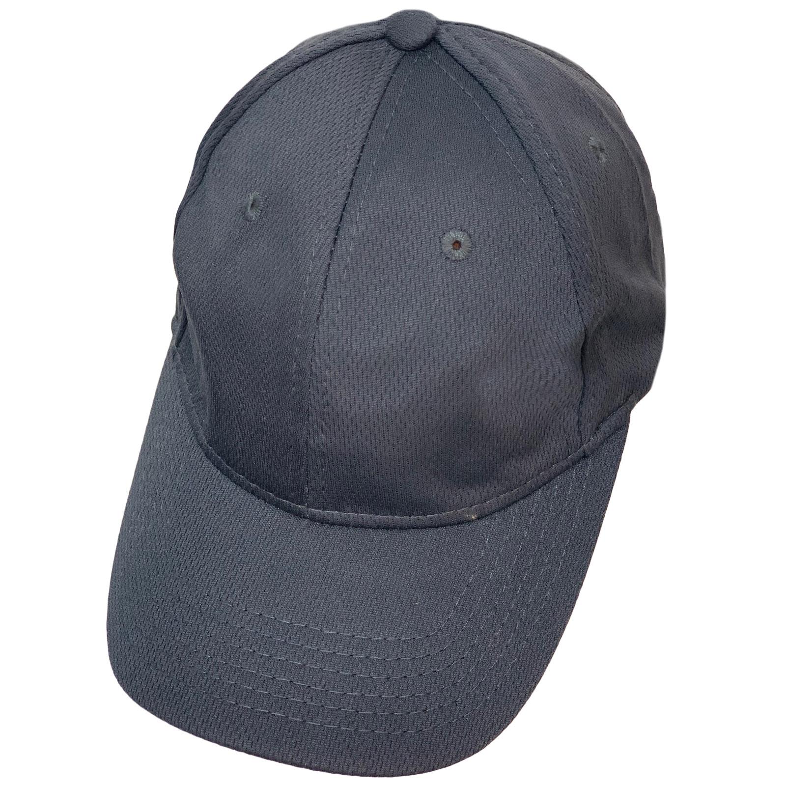 Бейсболка темно-серого цвета из текстурной ткани