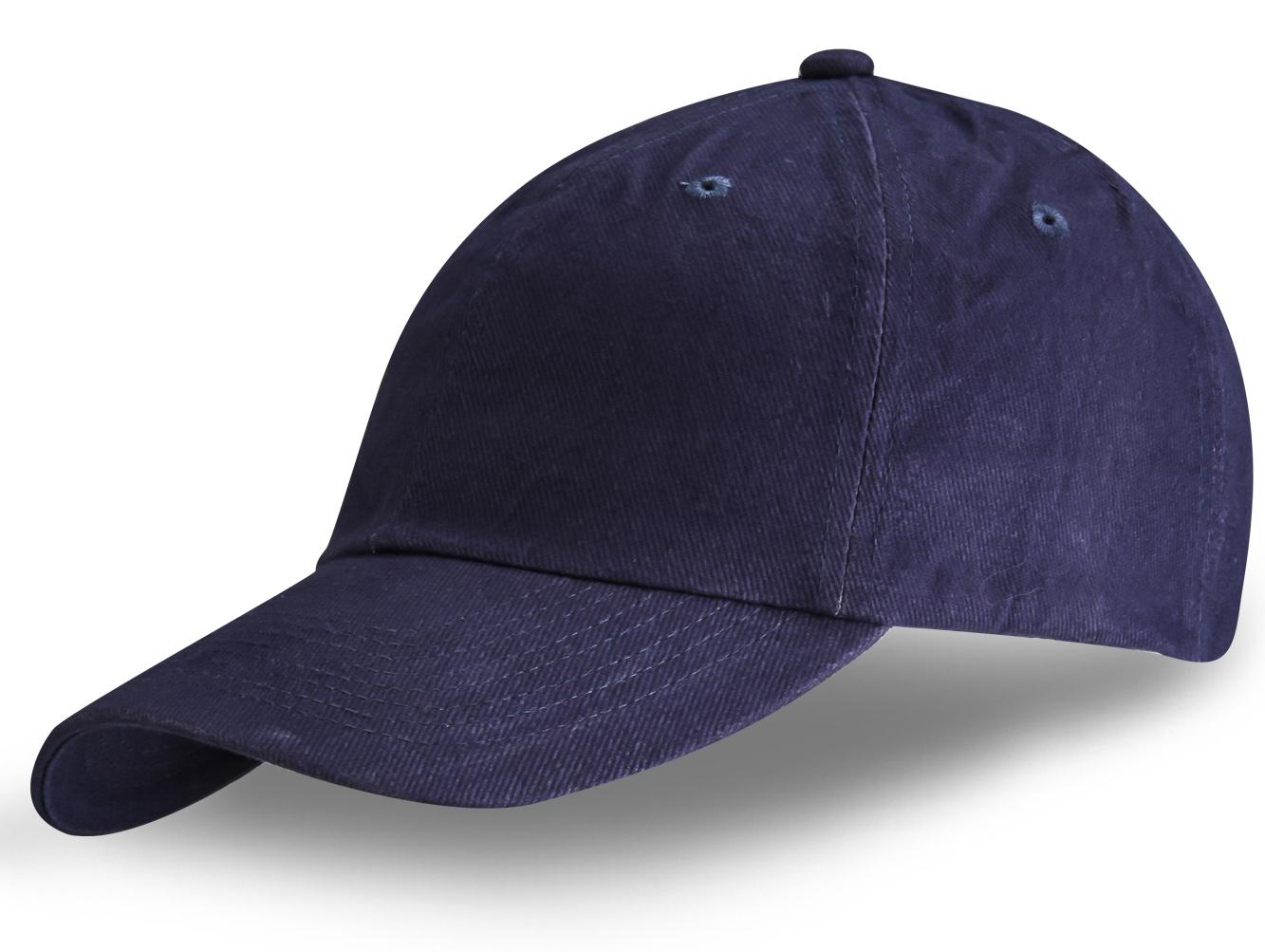 Бейсболка темно-синяя - купить в интернет-магазине с доставкой