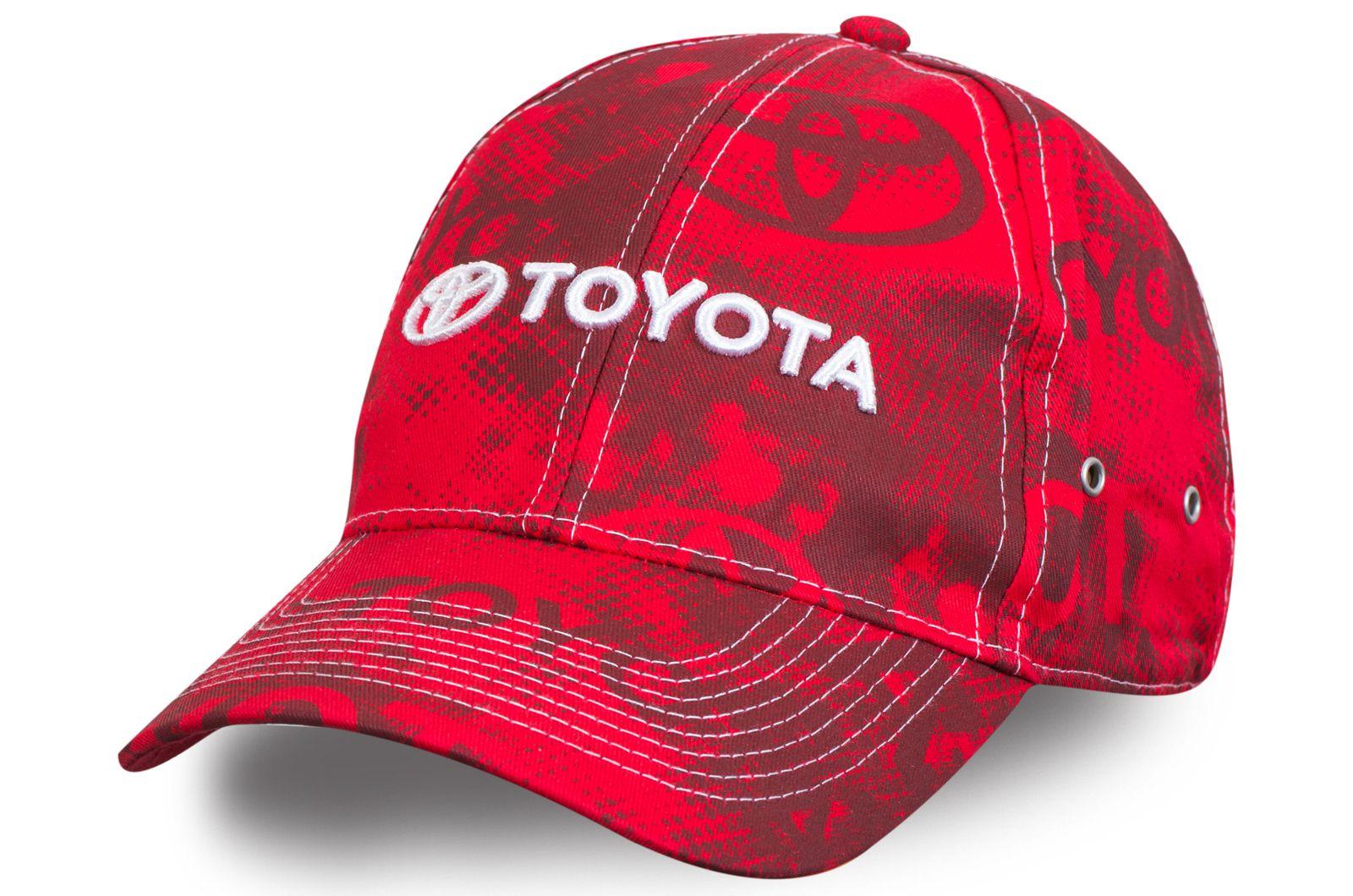 Бейсболка Тойота - купить в Москве с доставкой и самовывозом