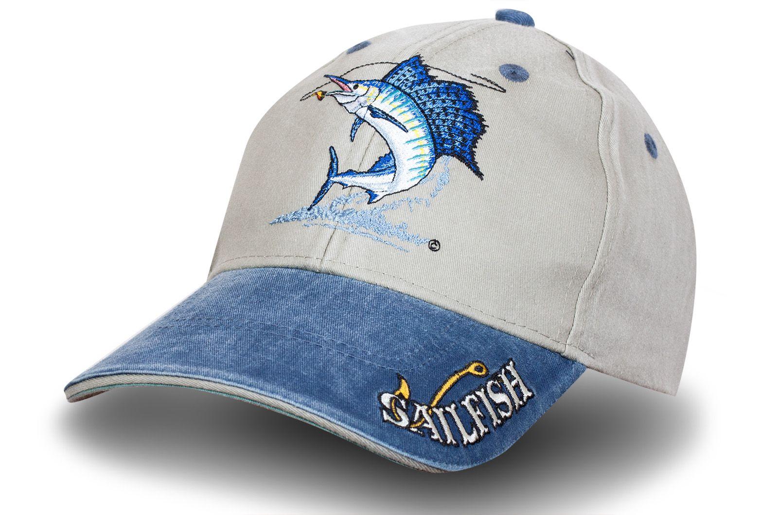 """Бейсболка """"Голубой Марлин"""" - купить по цене ниже рыночной"""