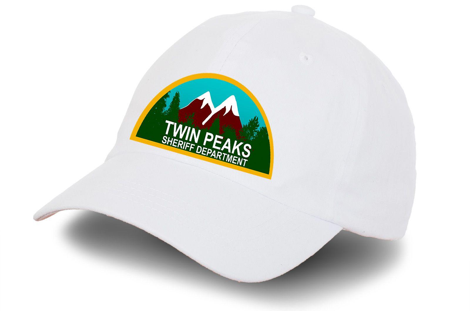 """Бейсболка """"Twin Peaks"""" - заказать с доставкой"""