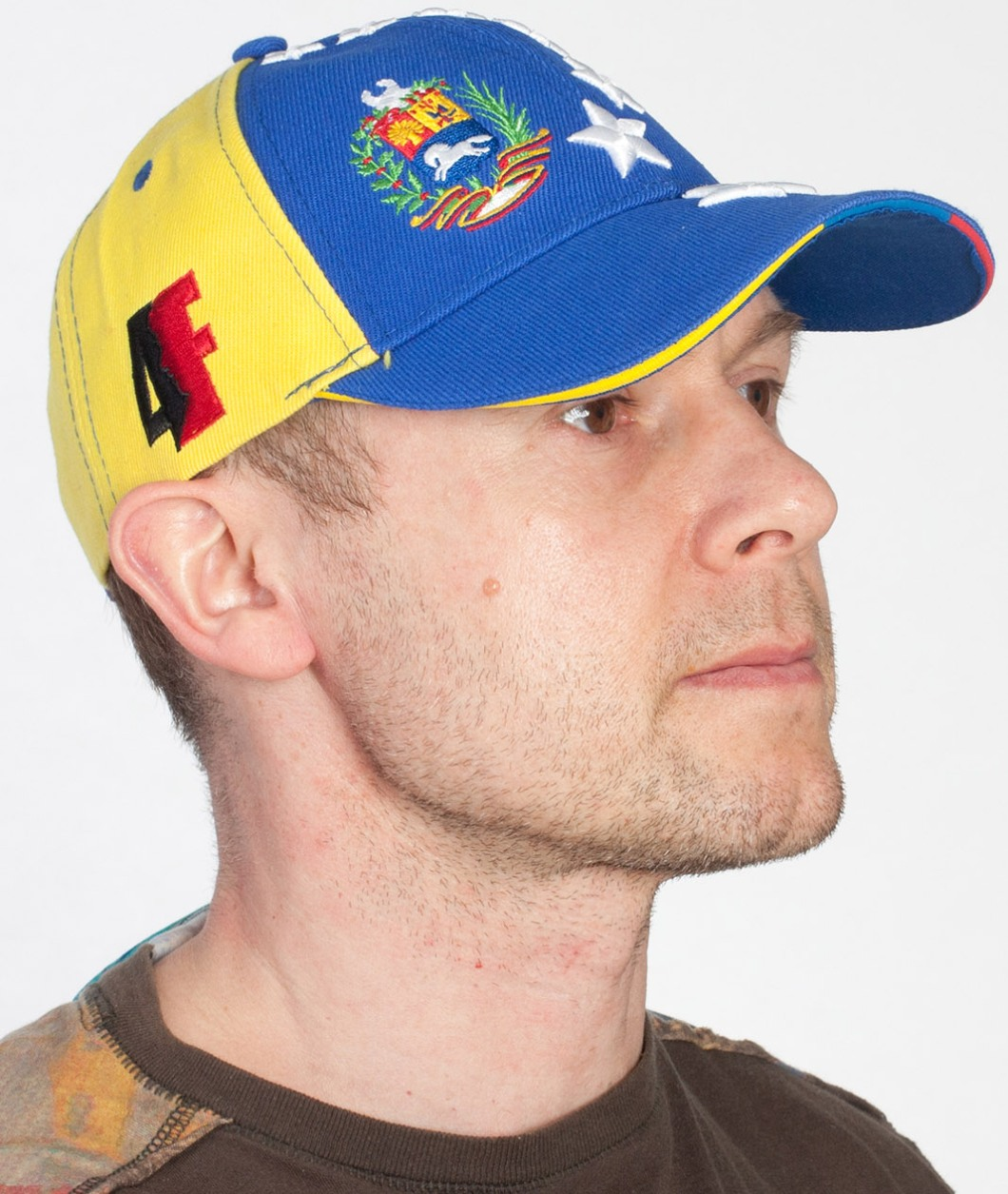 """Бейсболка """"Венесуэльский флаг"""""""