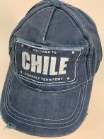 Бейсболка винтаж Chile из джинсовой ткани