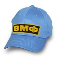 Бейсболка ВМФ небесно-голубая с авторской вышивкой
