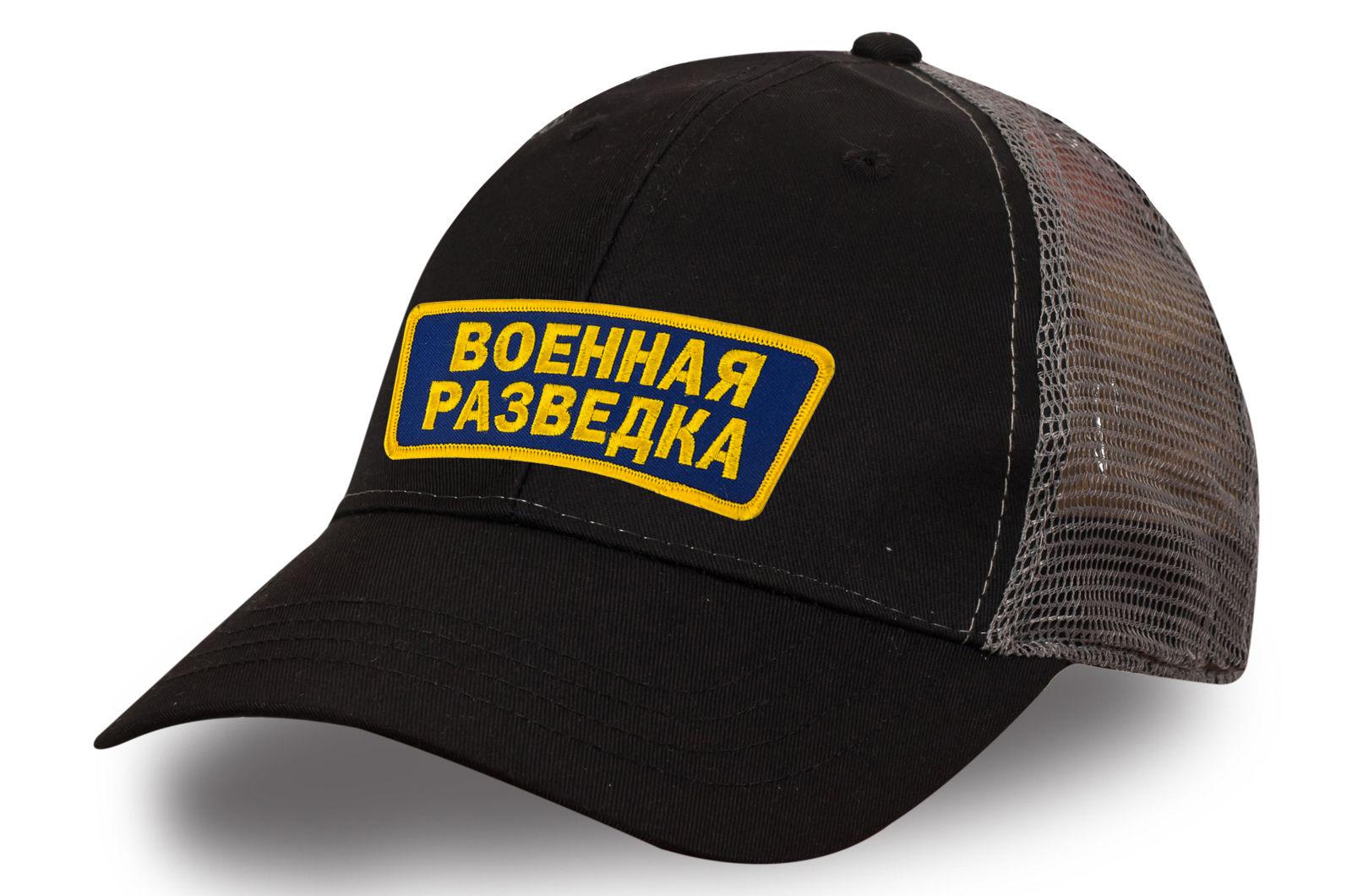 Бейсболка Военная разведка с сеткой.