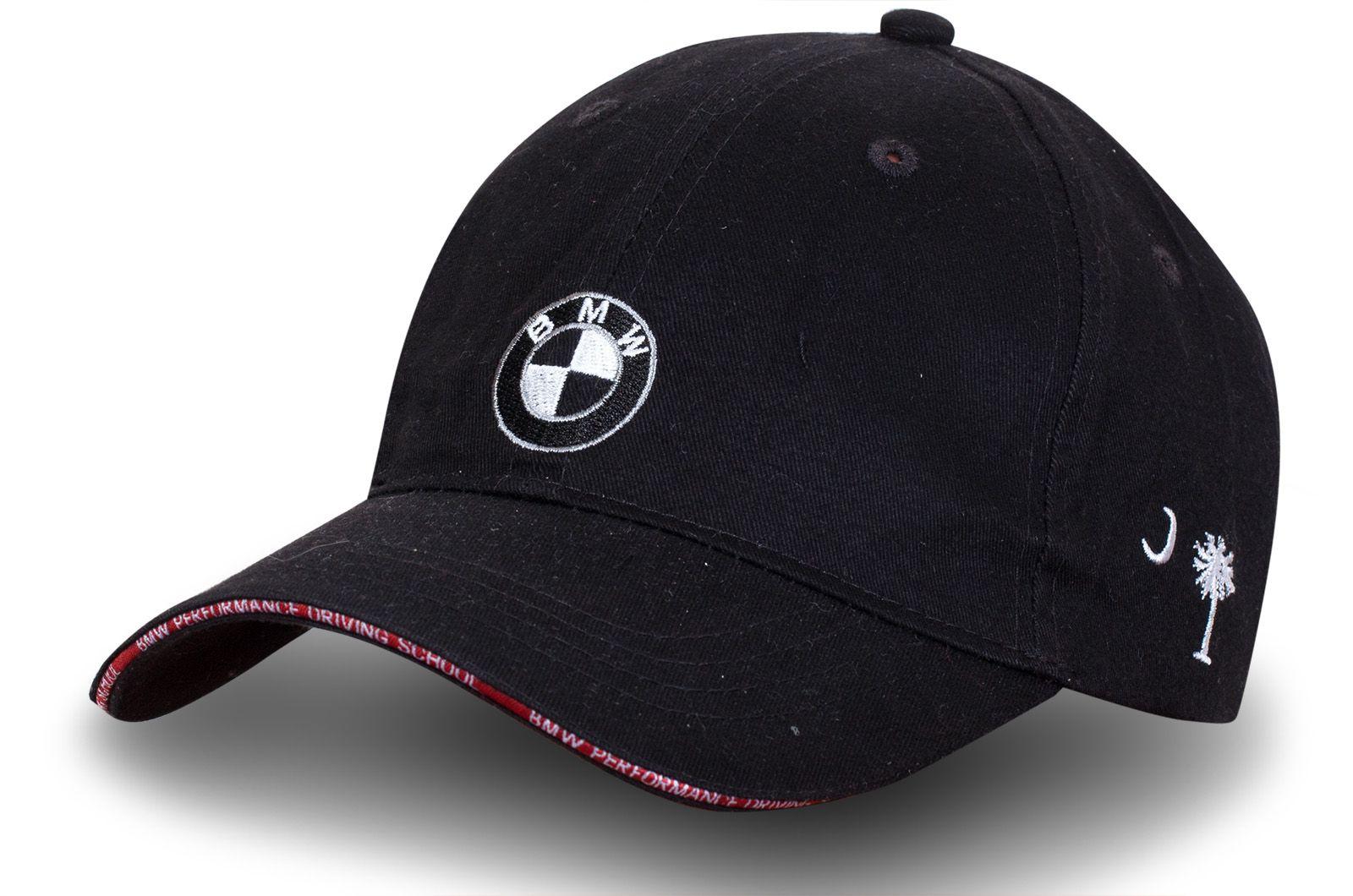"""Брендовая бейсболка """"За рулём BMW"""" - купить по выгодной цене"""