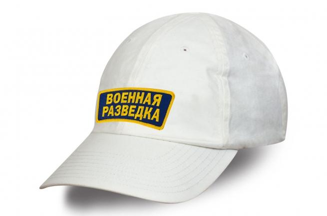 Белая кепка Военная разведка.