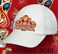 Порадуй своих близких отменным сувениром и подари бейсболку Russia с авторским принтом «Русский Мишка за столом». Безупречное качество по приятной цене
