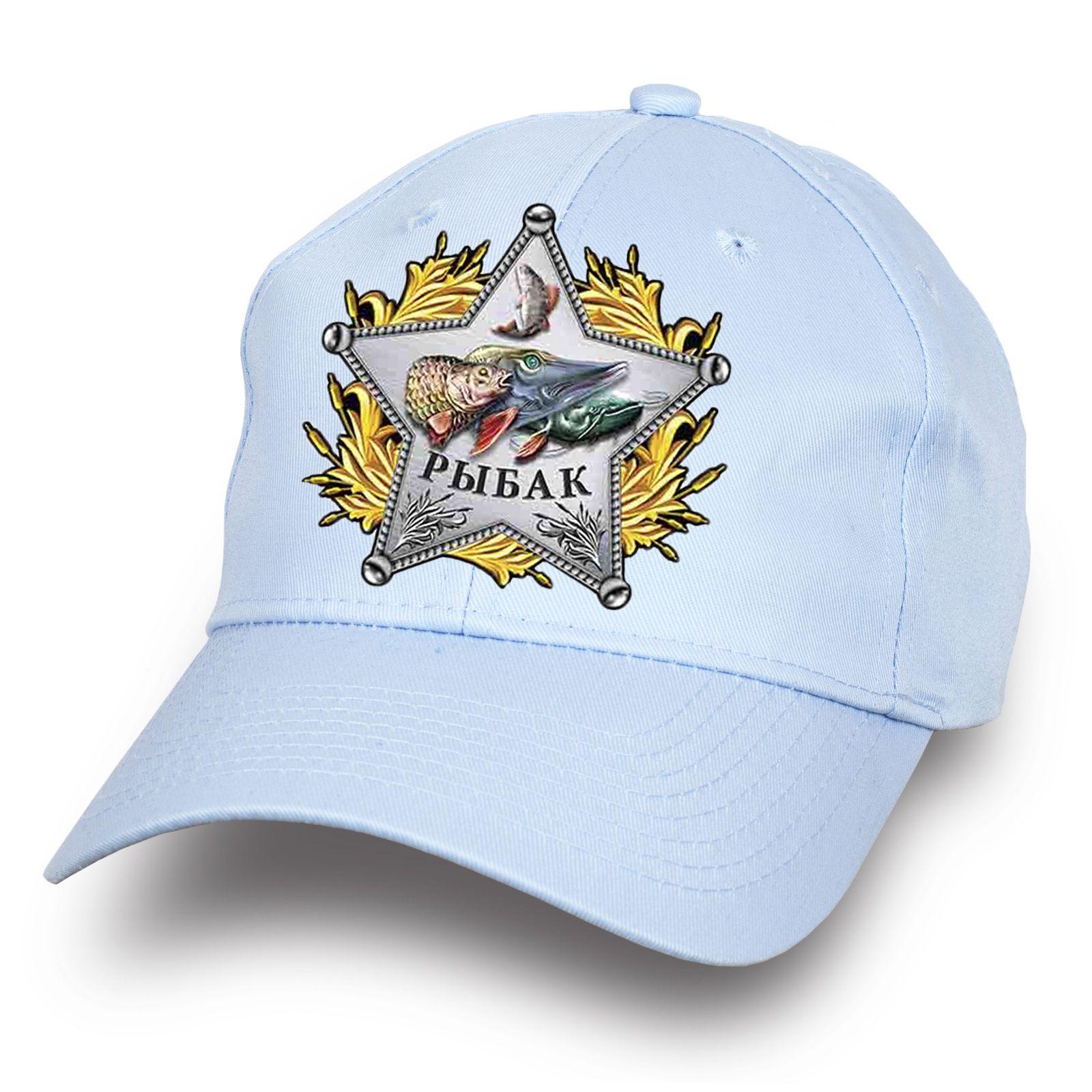 Белая бейсболка рыбака - купить по лучшей цене
