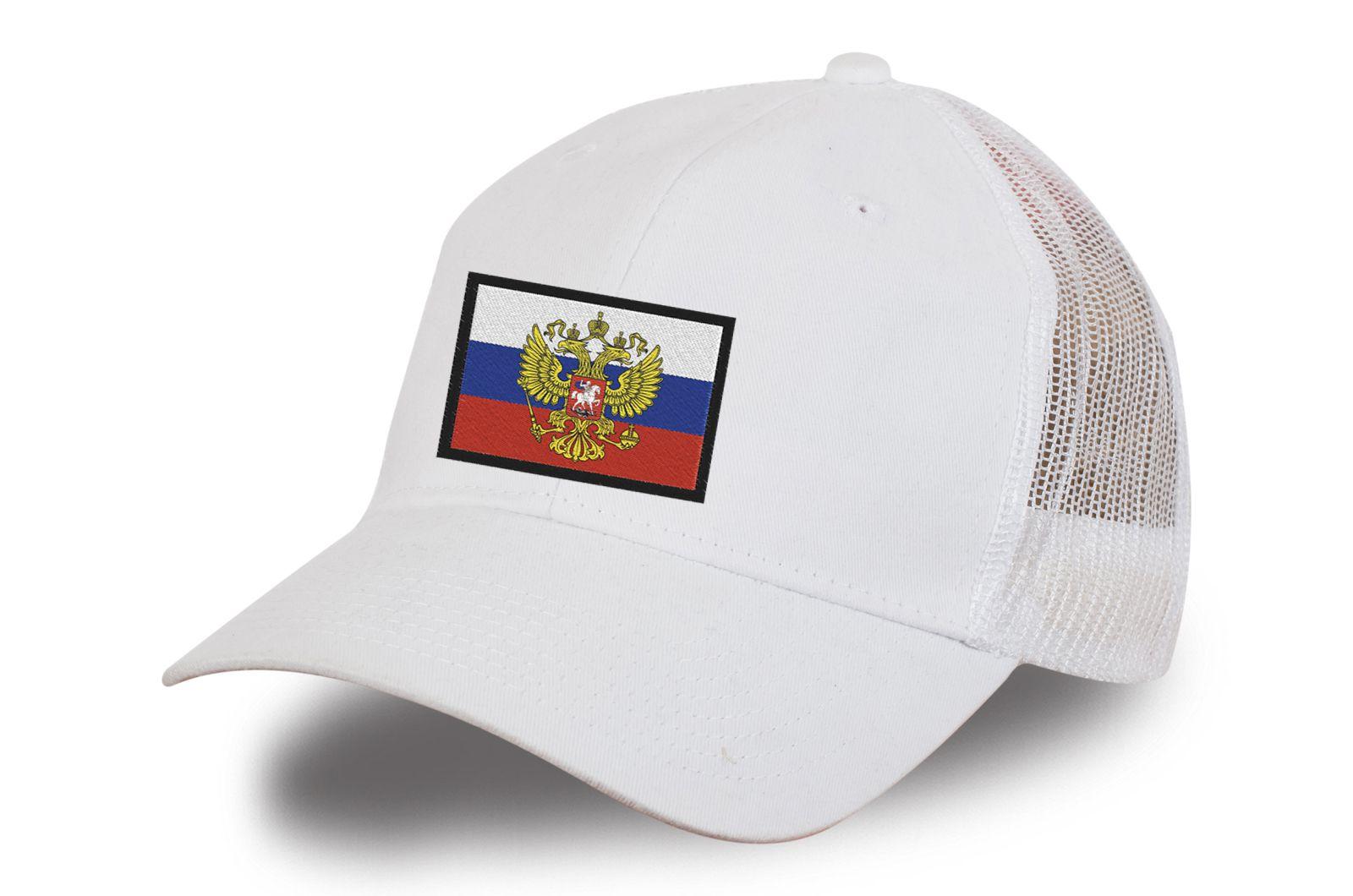 """Белая бейсболка """"Штандарт Президента"""""""