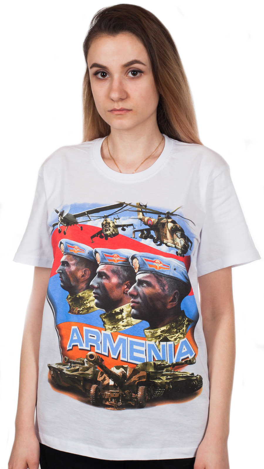 Футболка с надписью Армения – хороший подарок мужу, другу, коллеге