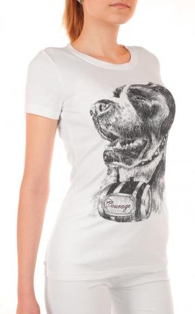 Шикарная футболка для очаровательных девушек GAP® Courage