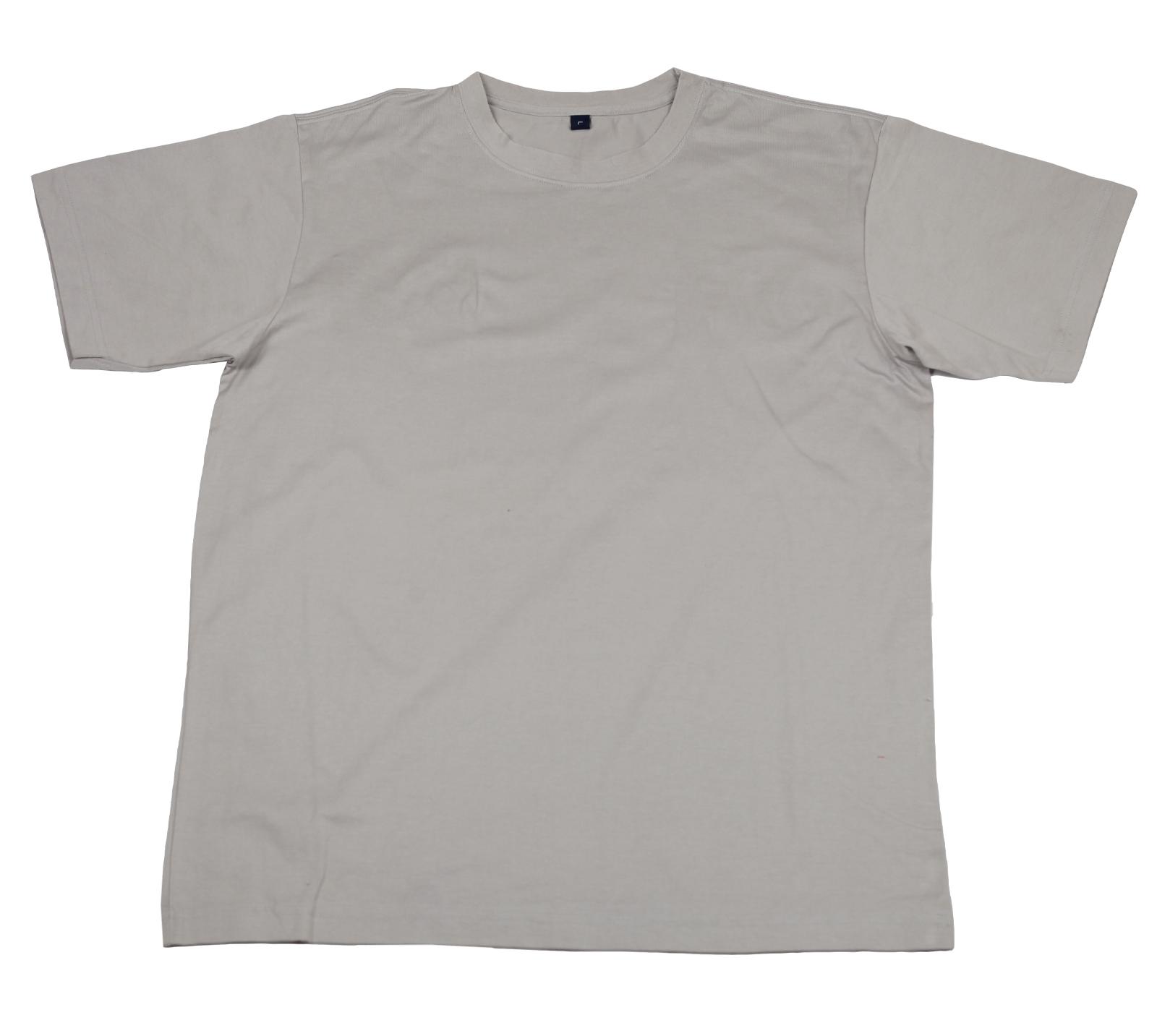 Белая футболка из натурального хлопка. Классическая модель