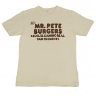 Белая футболка Mr. Pete с надписями