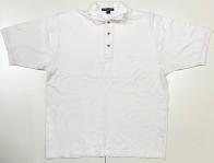 Белая футболка поло мужская
