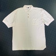 Белая футболка поло от WEAR FIRST