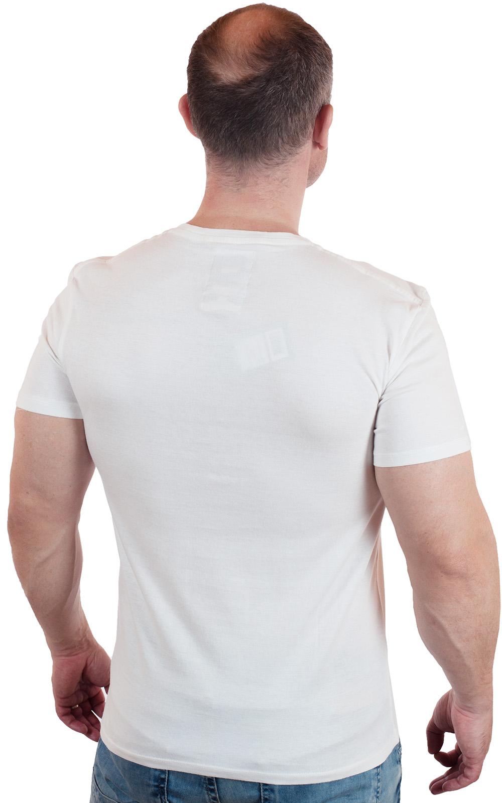 Белая футболка с брендовым принтом от G-Star Raw® по лучшей цене