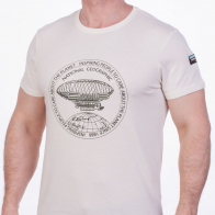 Белая футболка с принтом  (National Geographic Society, США)