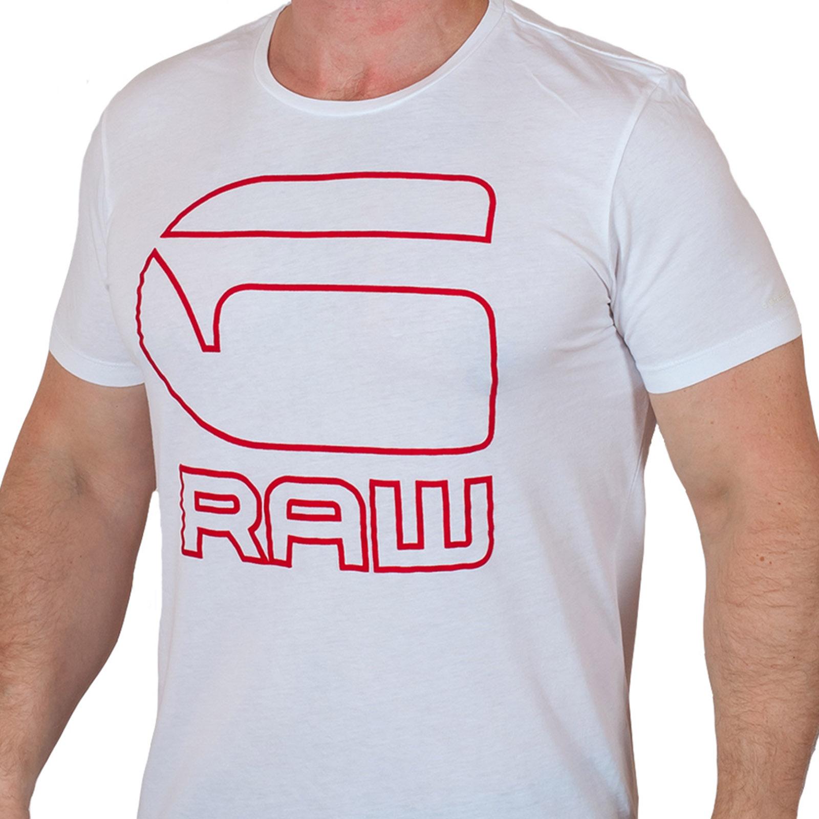 Белая футболка серьезного бренда G-Star Raw® Cadulor N524
