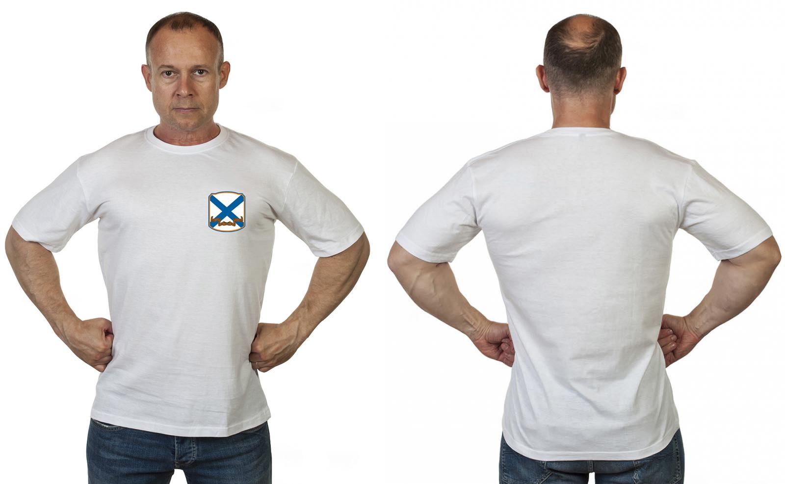 Белая футболка ВМФ России