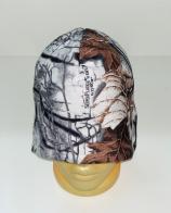 Белая камуфлированная шапка