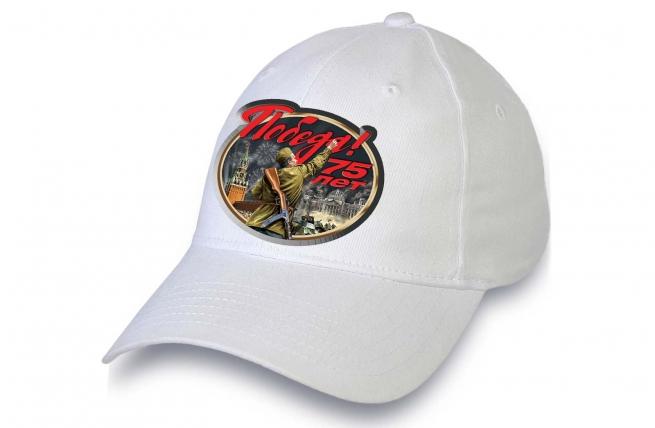 Белая кепка «75 лет Победе в ВОВ»