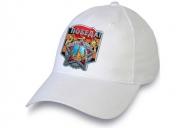 Белая кепка для праздничных демонстраций на 75 лет Победы