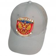 Белая кепка Russian Federation
