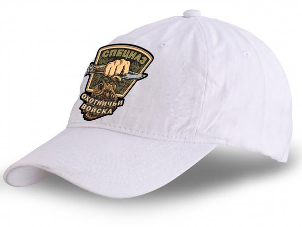 Купить белую кепку с эмблемой охотничьих войск
