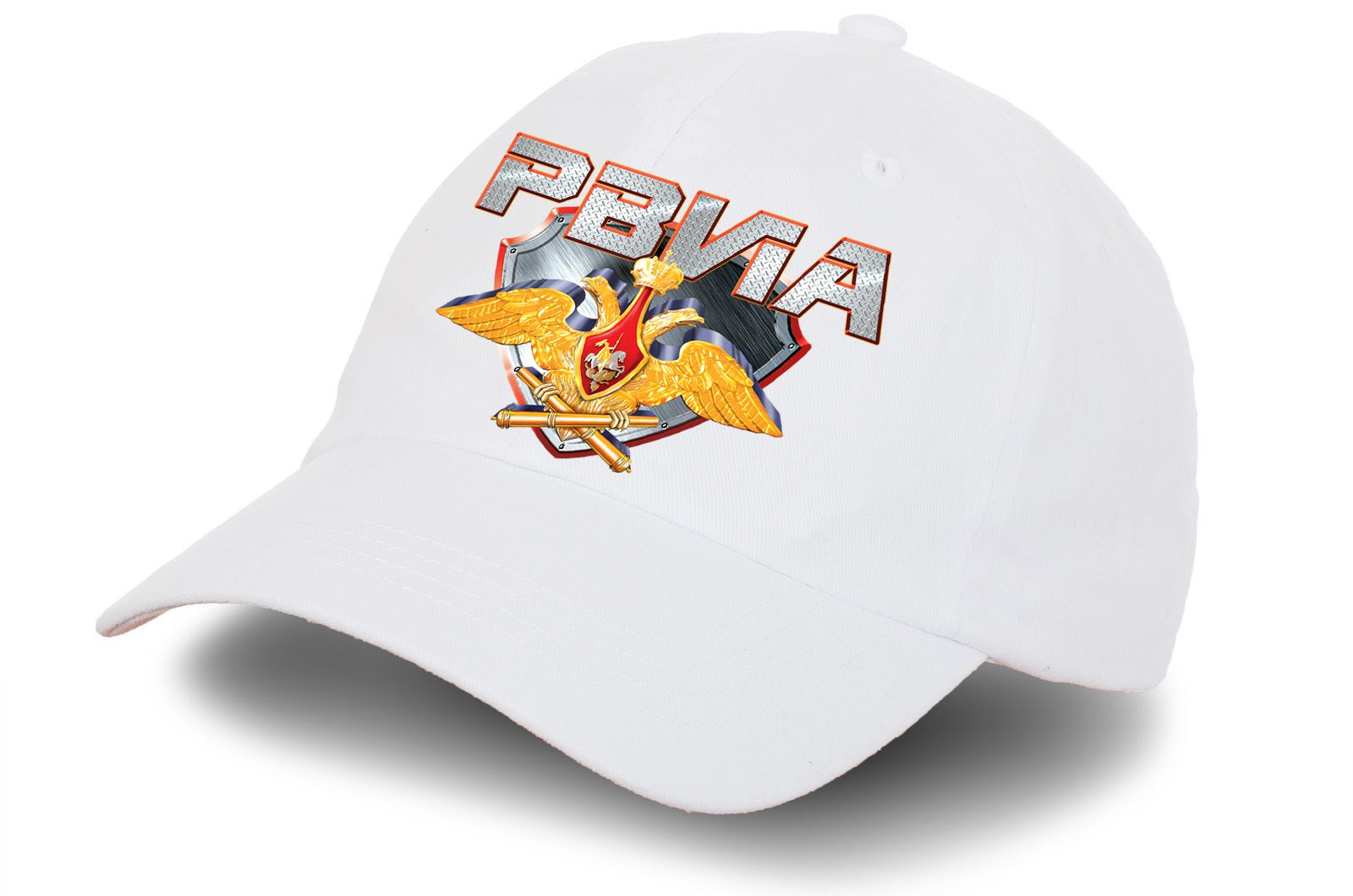Белая кепка с гербом РВиА - купить в интернет-магазине