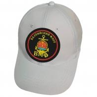 Белая кепка с нашивкой Балтийский флот ВМФ