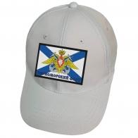Белая кепка с нашивкой Черноморский флот