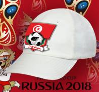 Белая кепка тунисского болельщика