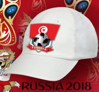 Белая крутая бейсболка сборной Туниса