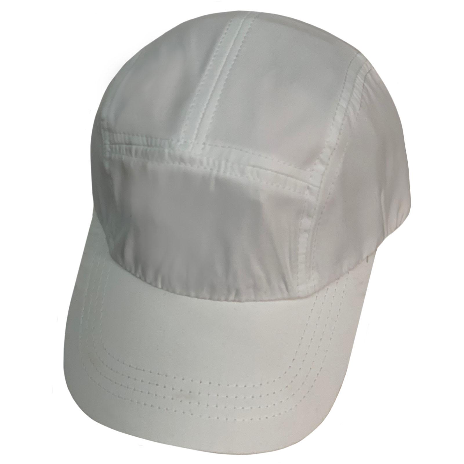 Бежевая летняя кепка